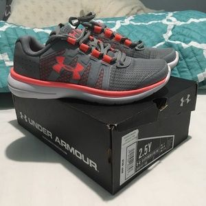 Under Armour little girls shoes
